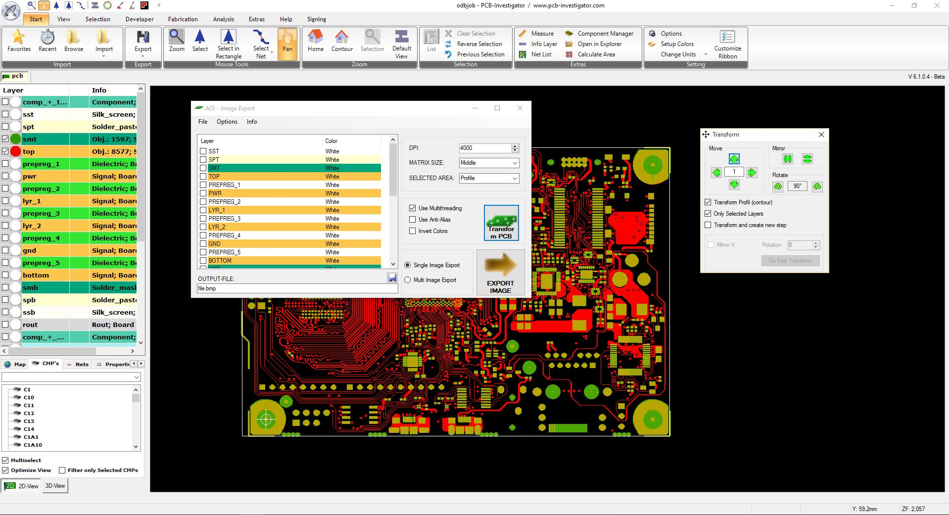 High Resolution Images for Automated Optical Inspection | PCB ...