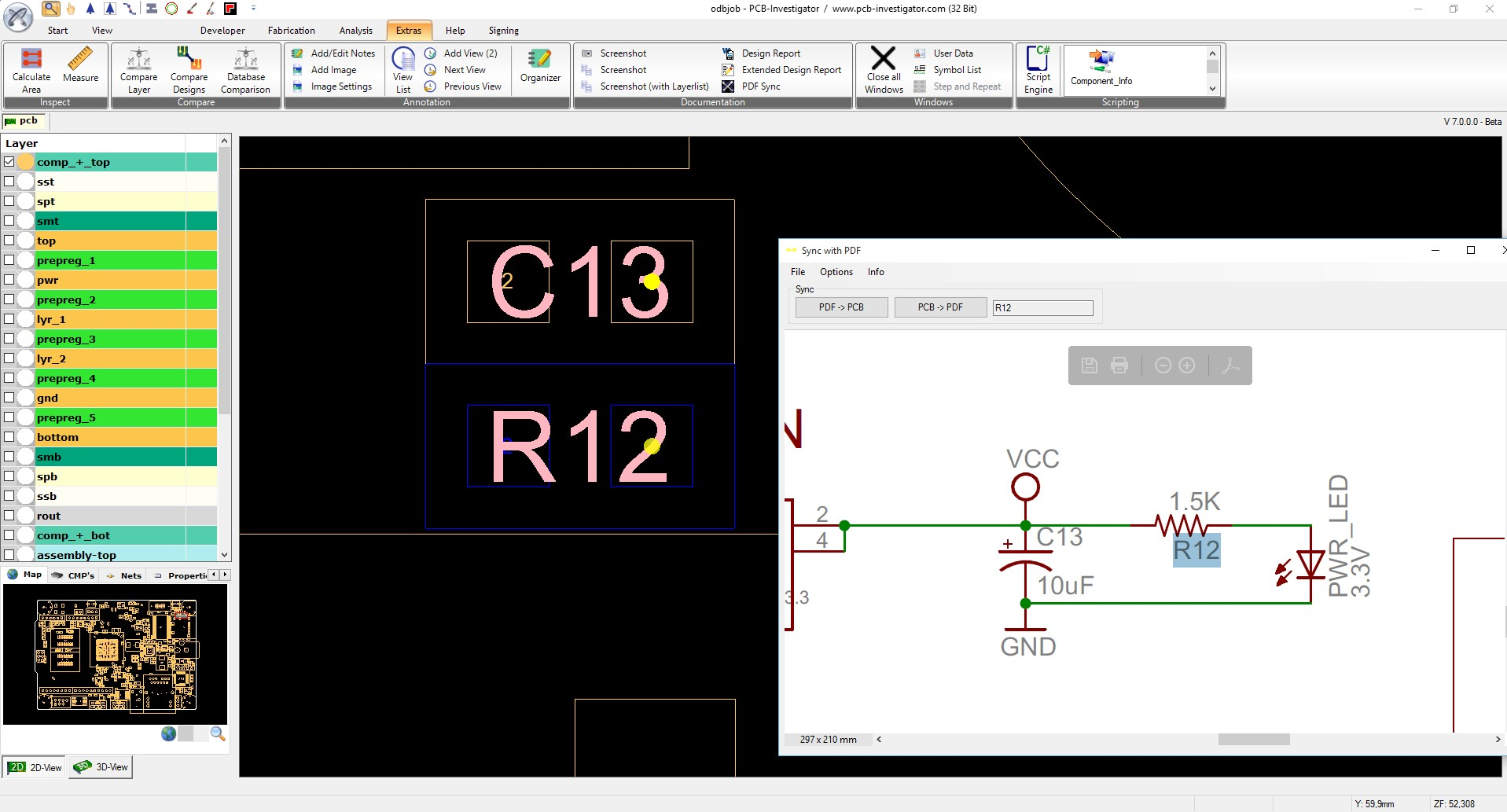 Marvelous Pdf Sync For Schematic And Mechanical Drawings Pcb Investigator Wiring 101 Cranwise Assnl